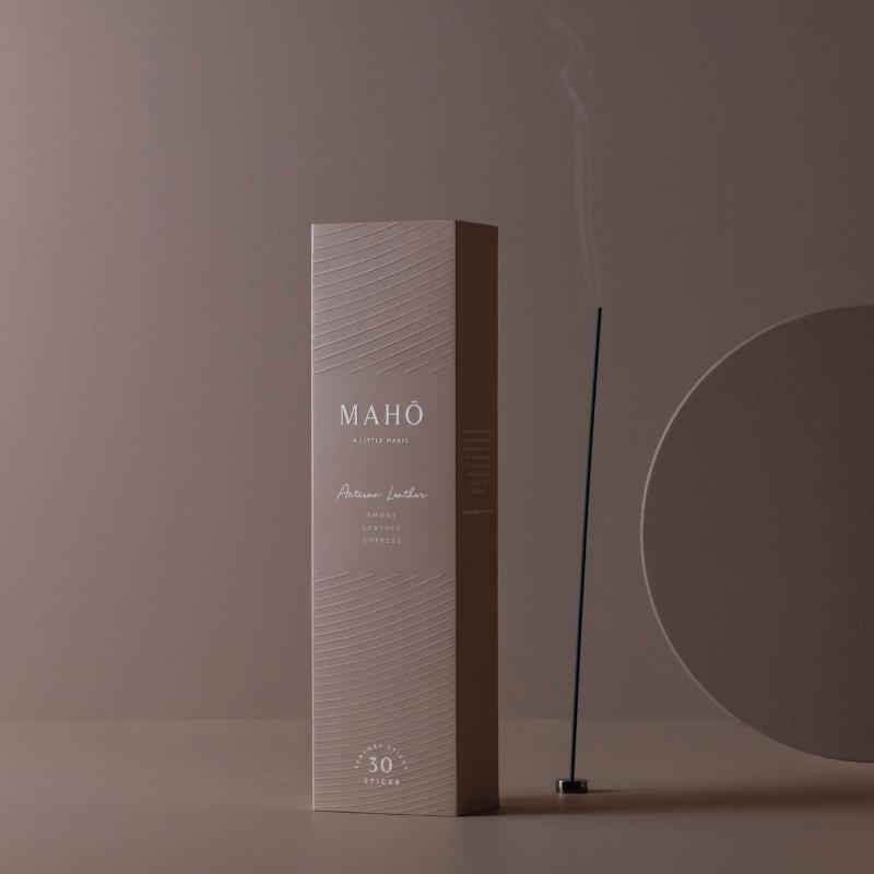 Artisan Leather Incense-MAHŌ-Sable Boutique