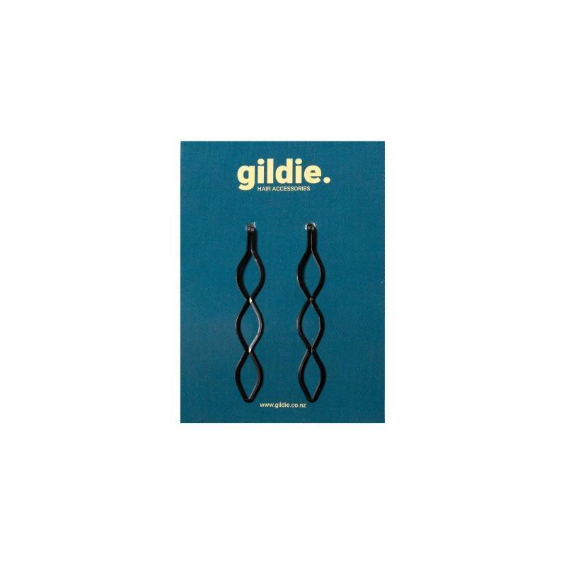 Load image into Gallery viewer, Black Hair Slides-Gildie-Sable Boutique