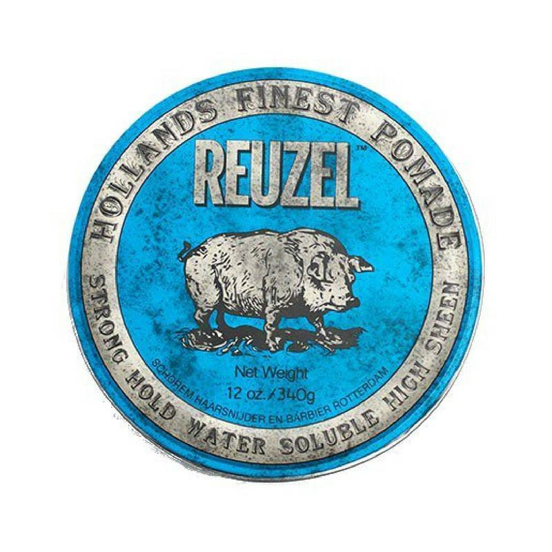 Blue Strong Hold Water Based Pomade-Reuzel-Sable Boutique