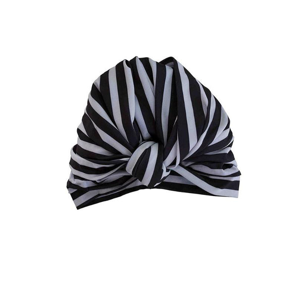 Dahlia Shower Cap In Monochrome-Louvelle-Sable Boutique