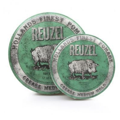 Green Piglet Pomade Grease Medium Hold