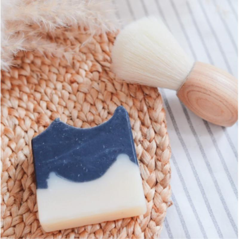 Shaving Bar - Cedarwood & Charcoal-Bareaya-Sable Boutique