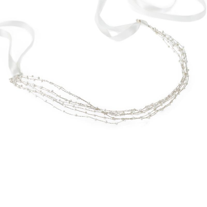 Simple Beaded Rope Hair Piece-Gildie-Sable Boutique