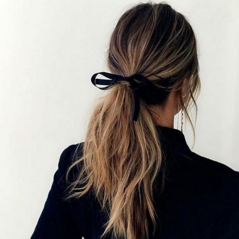 Velvet Bow Hairtie-Gildie-Sable Boutique