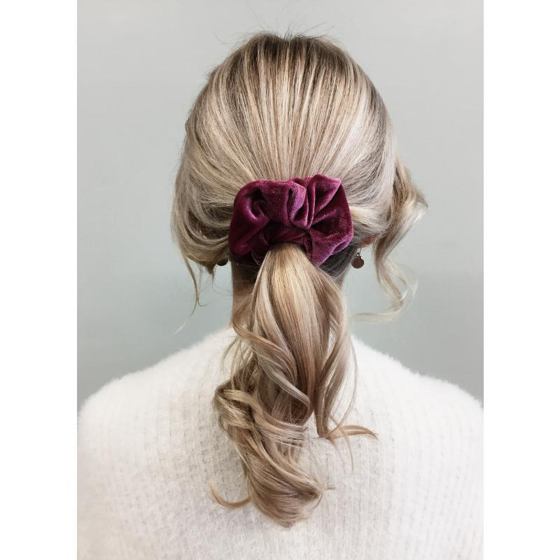 Velvet Scrunchie-Gildie-Sable Boutique