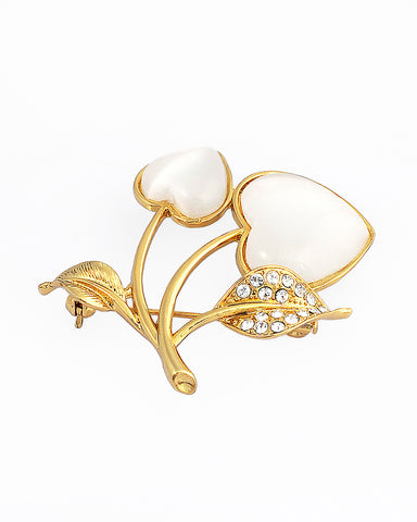 18k Gold Fashion Brooch