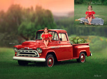Load image into Gallery viewer, Watermelon truck digital backgrounds