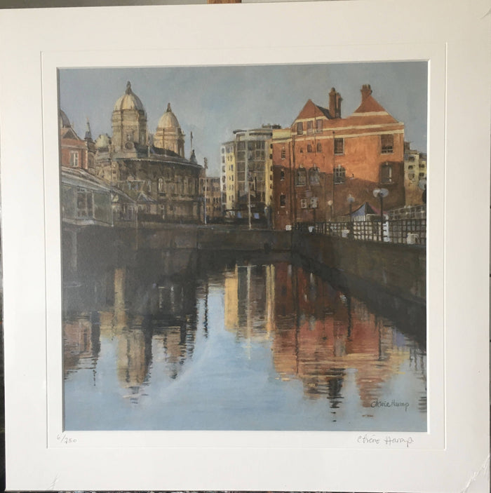 Princes Dock, Hull. Giclee print
