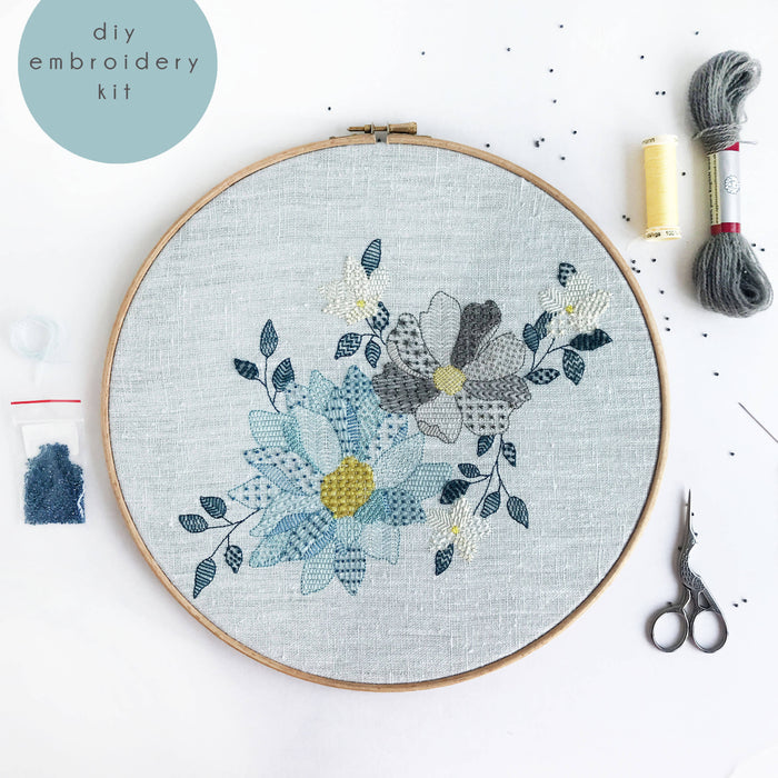 'Endless Spring' Modern Embroidery Kit