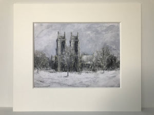 A Winter's Tale, Beverley Minster - print