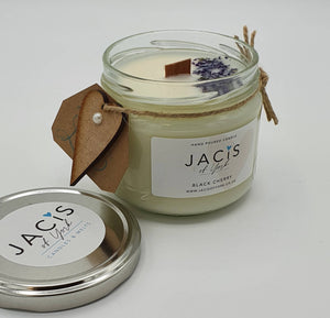 Jacis of York 300 ml eco soy Jar Candle Black Cherry