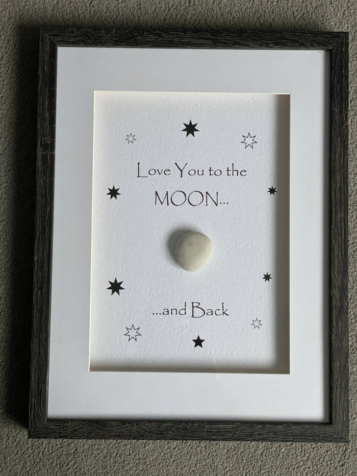 Love you to the Moon and Back - Large