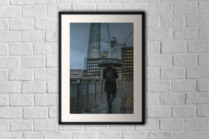 London Bridge - Limited run 60 x 80 cm framed print