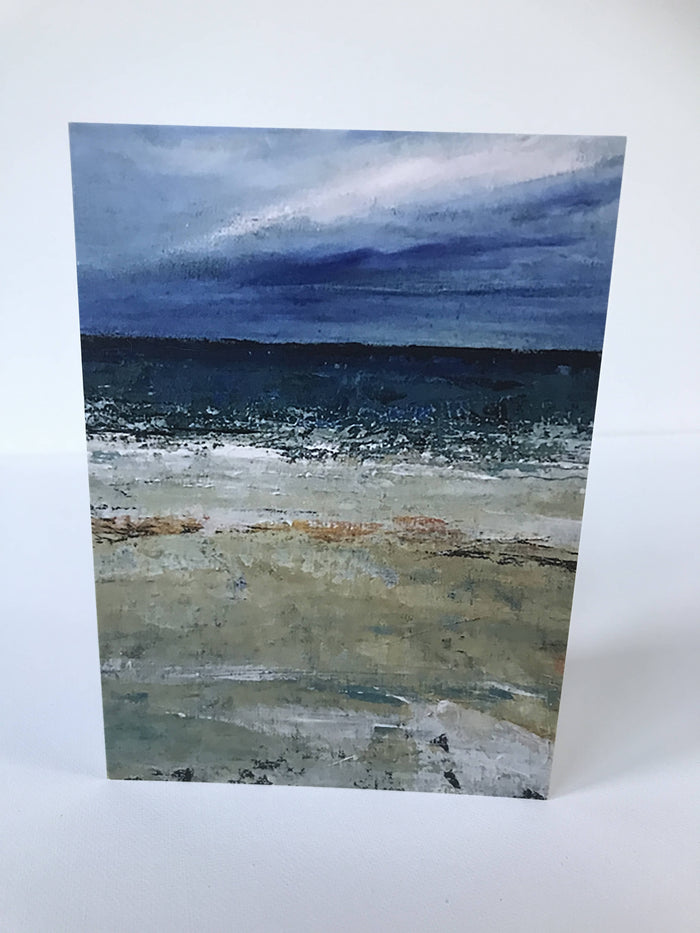 WET SANDS I - CARD