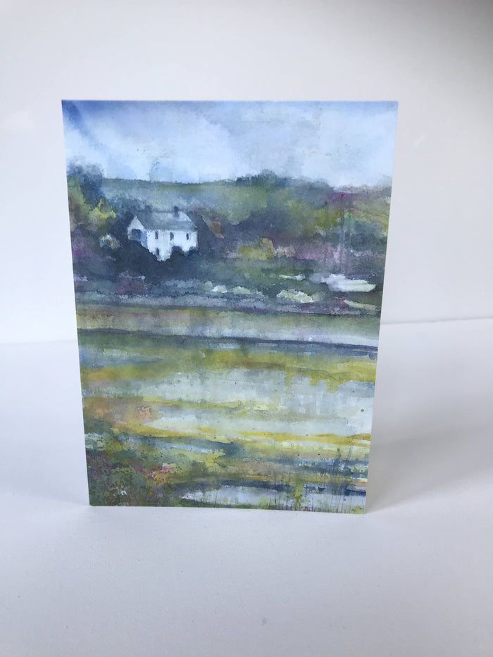 ACROSS THE WATER - CARD