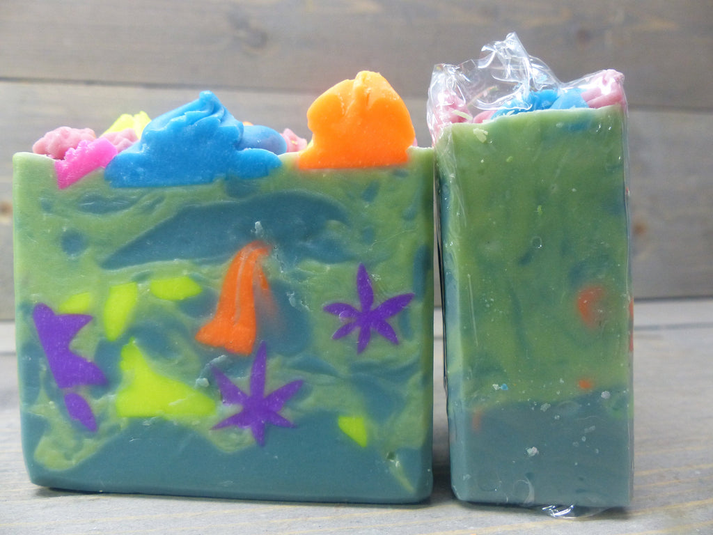 Flower Power Soap - 4.5 oz. - 5 oz. Bar Soap