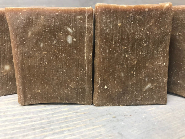Pine Tar & Oatmeal 4.5 oz Bar Soap for Psoriasis and Eczema