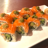 So restaurant japanese food Salmon & Crab Alaska Roll