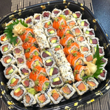 So Restaurant Japanese Food London Delivery Maki Sushi Selection for Five
