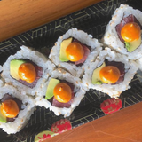 So Restaurant Japanese Food Spicy Tuna Roll with Avocado