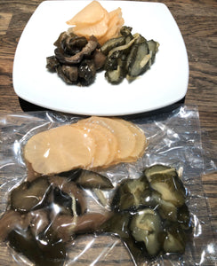 Assorted Japanese Pickles【お漬物3種 盛り合わせ】