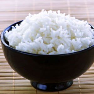 Steamed rice 【ご飯】