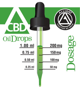 24,000 mg Full-Spectrum CBD Oil Drops 120ml