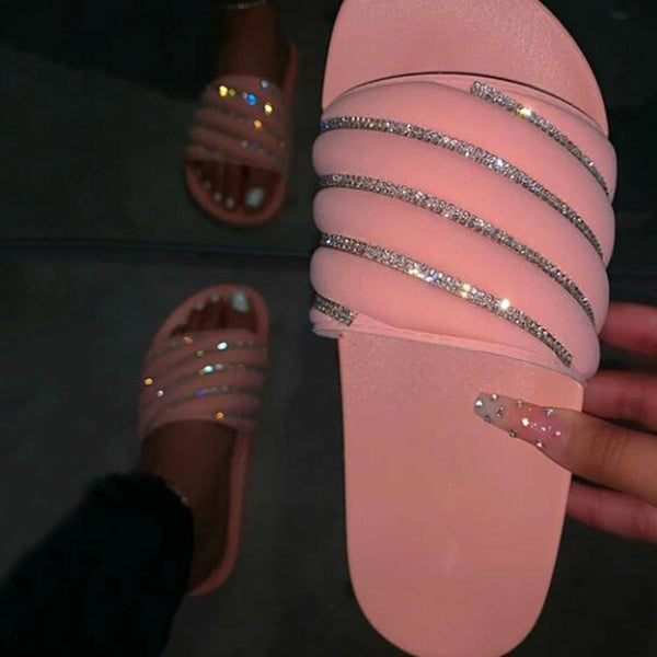 Women's sandals, slippers, sequins, beach shoes
