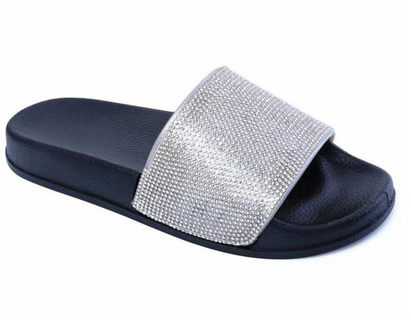 Rhinestone Women Slippers Slides Crystal Diamond  Slides Sandals Slippers