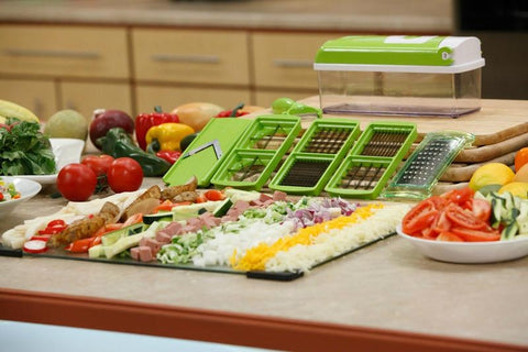 Nicer Dicer Plus Vegetable Cutter Fruit Slicer