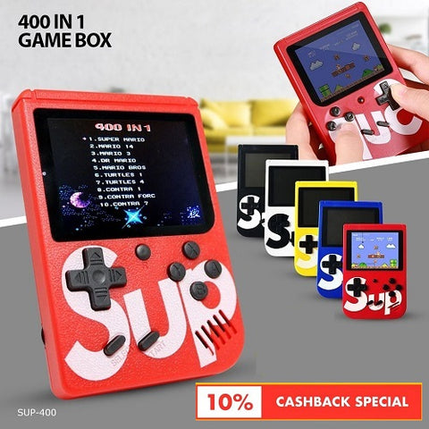 Sup-400 Gamepad 400 In 1 Game Box