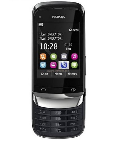 Nokia C2-06 Slide Mobile Phone