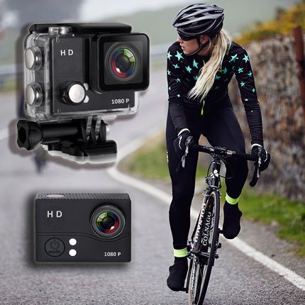 HD 1080p 12MP Waterproof Action Camera Sports and Action Camera