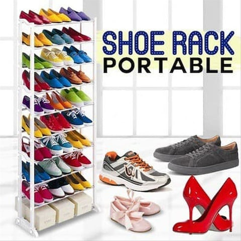 Amazing Shoe Rack 10 Layer Shoes Organizer