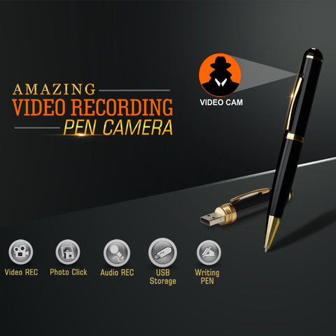 Amazing Video Recording Spy Pen Camera