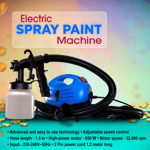 Electric Spray Paint Machine / Sanitizer Spray Machine