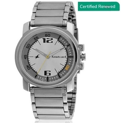 Fastrack Analog Grey Dial Men's Watch - NE3039SM05