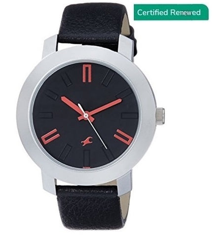 Fastrack Casual Analog Black Dial Men's Watch - NL3120SL02