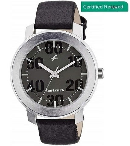 Fastrack Casual Analog Grey Dial Stylish Men's Watch - NL3121SL02