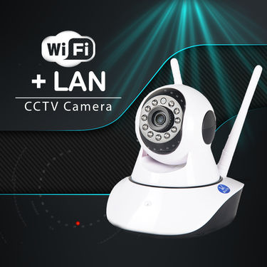 WiFi Smart Camera 1080p Hd Quality with Night Vision Quality