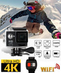 Pro 4K Ultra HD 1080P Wifi Sport DV Action Camera Camcorder + Remote Control
