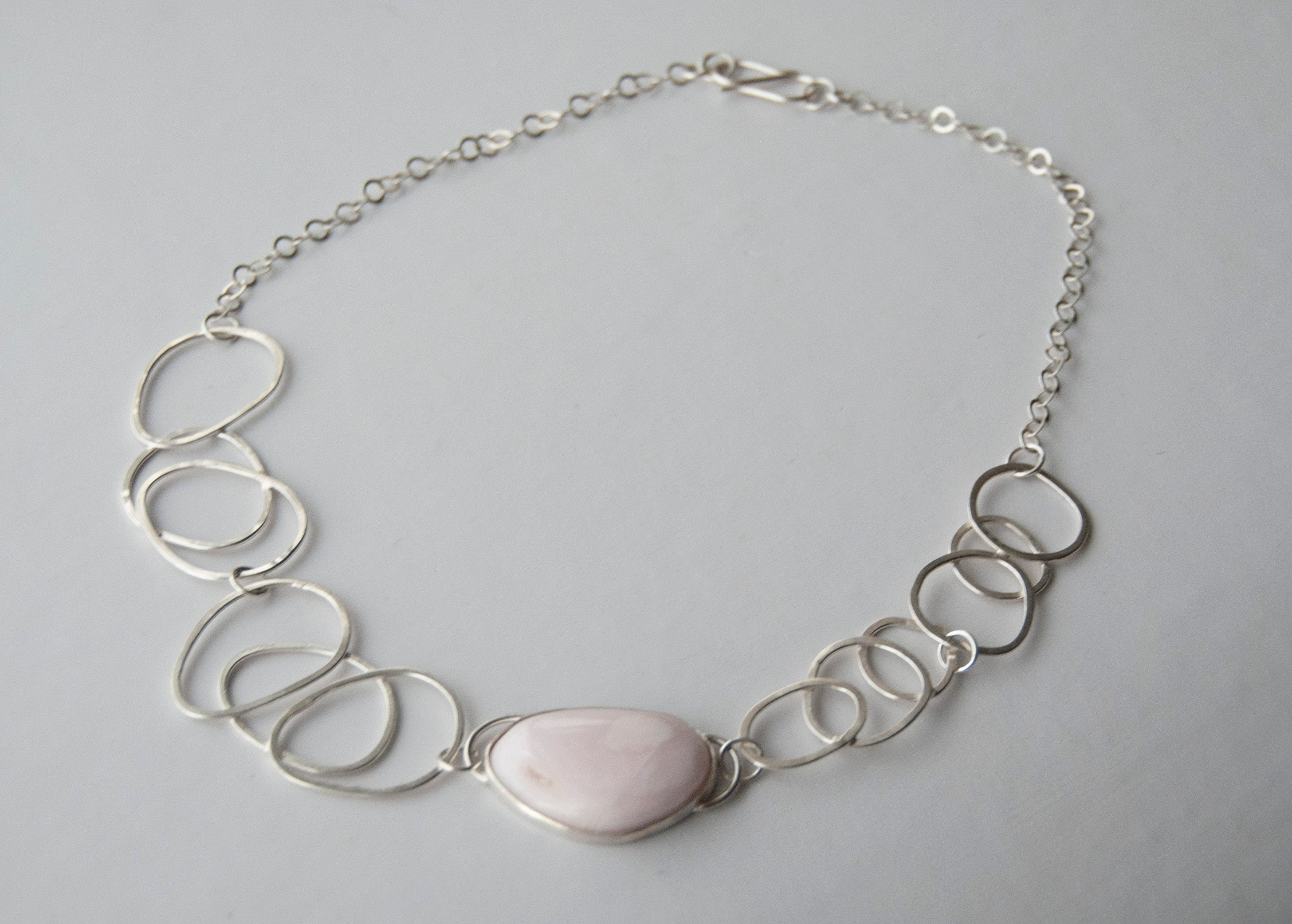 Gemstone Collection - Mangano Calcite Multi Link Necklace