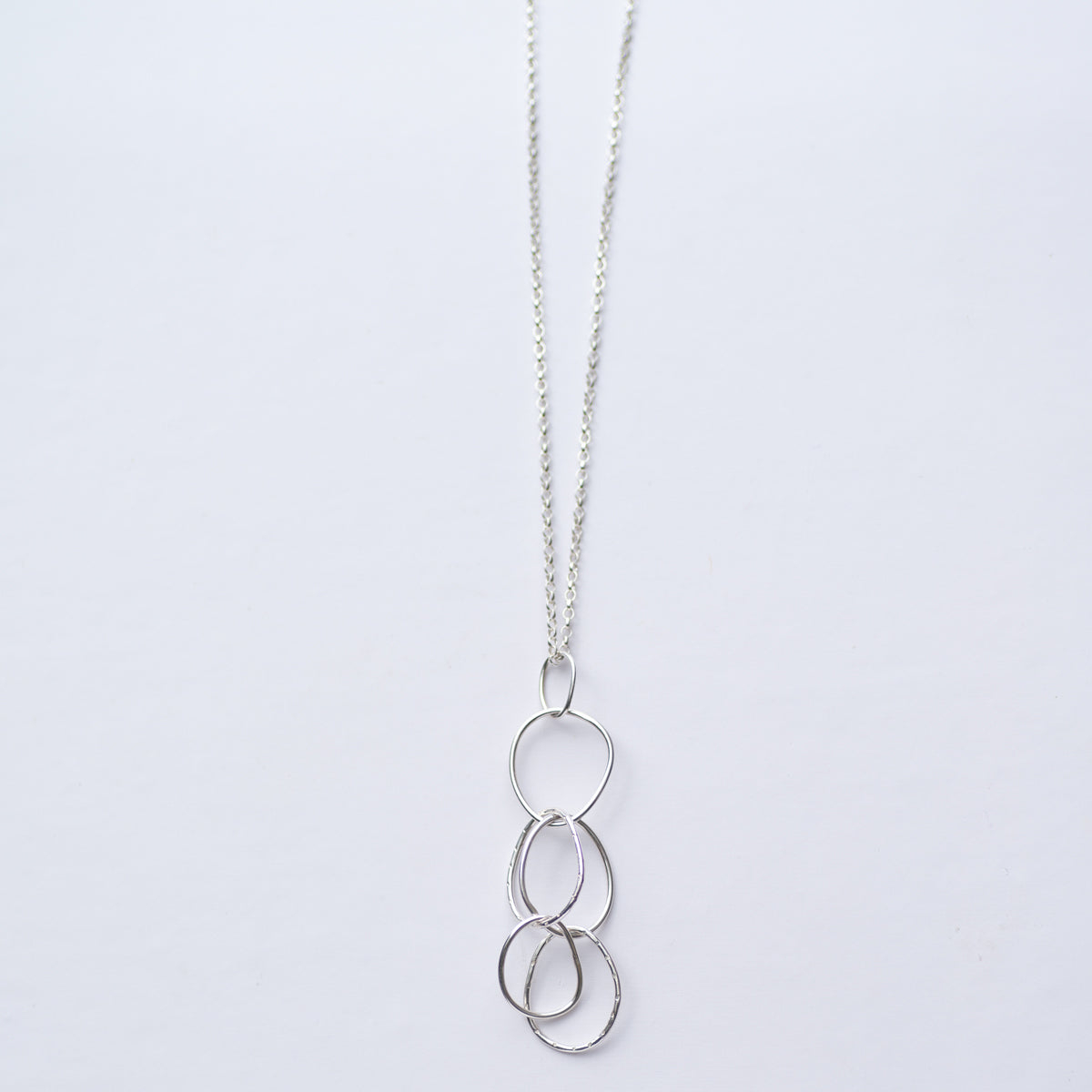 Sky Collection Linked Loop Necklace