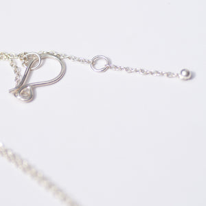 Silver Pebble Necklace