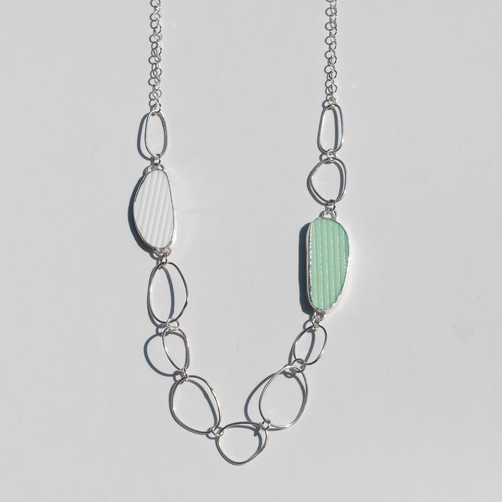 Tidal Collection Reversible Link Necklace