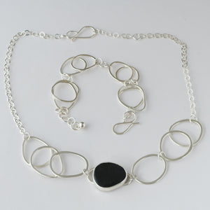 Sky Collection Multi Link Necklace