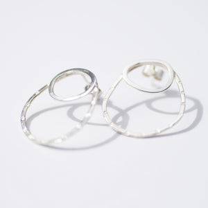 Sky Collection Double Link Studs