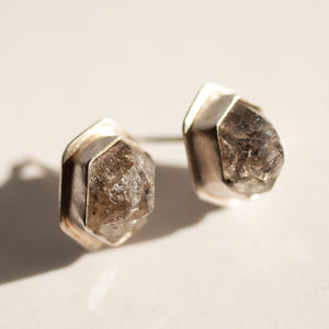 Gemstone Collection - Tourmalated Quartz Large Studs