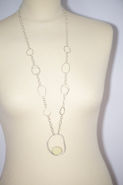 Pebble Drop Necklace