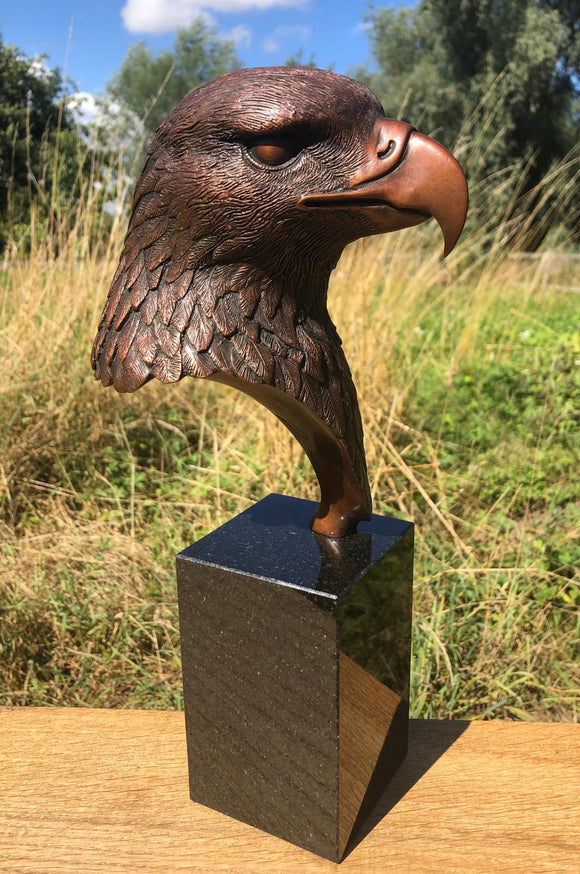 Eagle Bust- Feathered